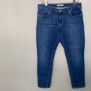 Levi's - 711 Skinny Ankle Jeans size 32